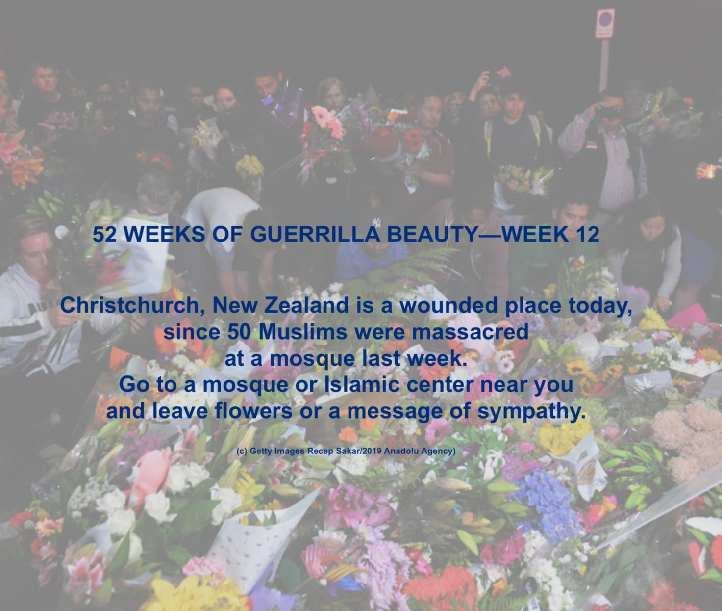 Christchurch Mosques Shooting