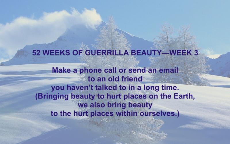 52 Weeks of Guerrilla Beauty - Week 3