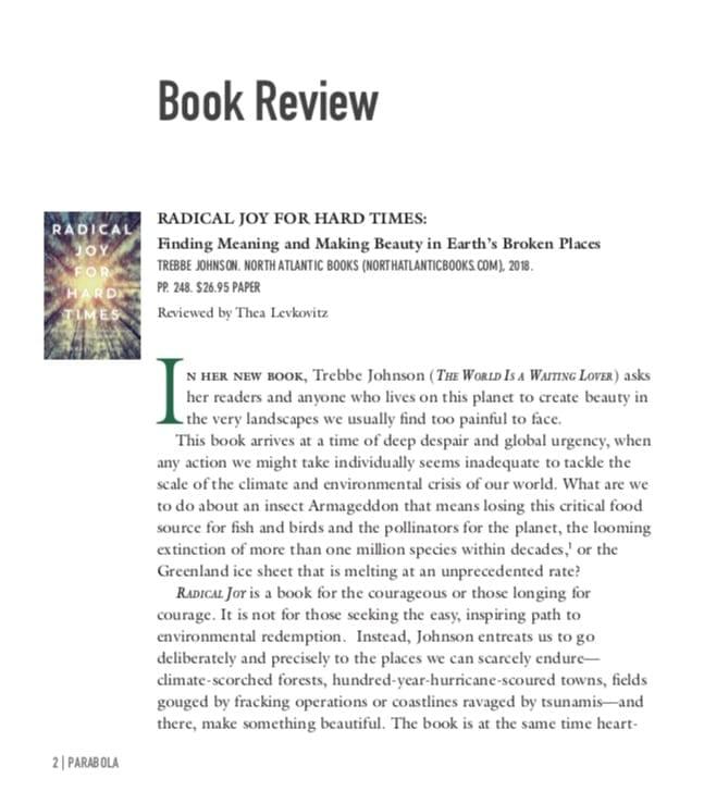 Book Review Parabola