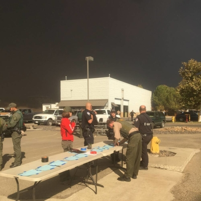 Camp Fire Staging Area, Butte College