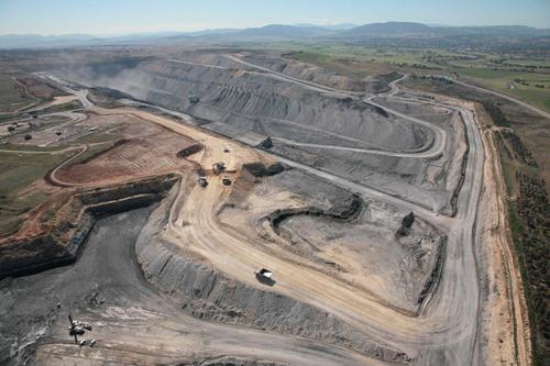 Open Seam Coal Mine