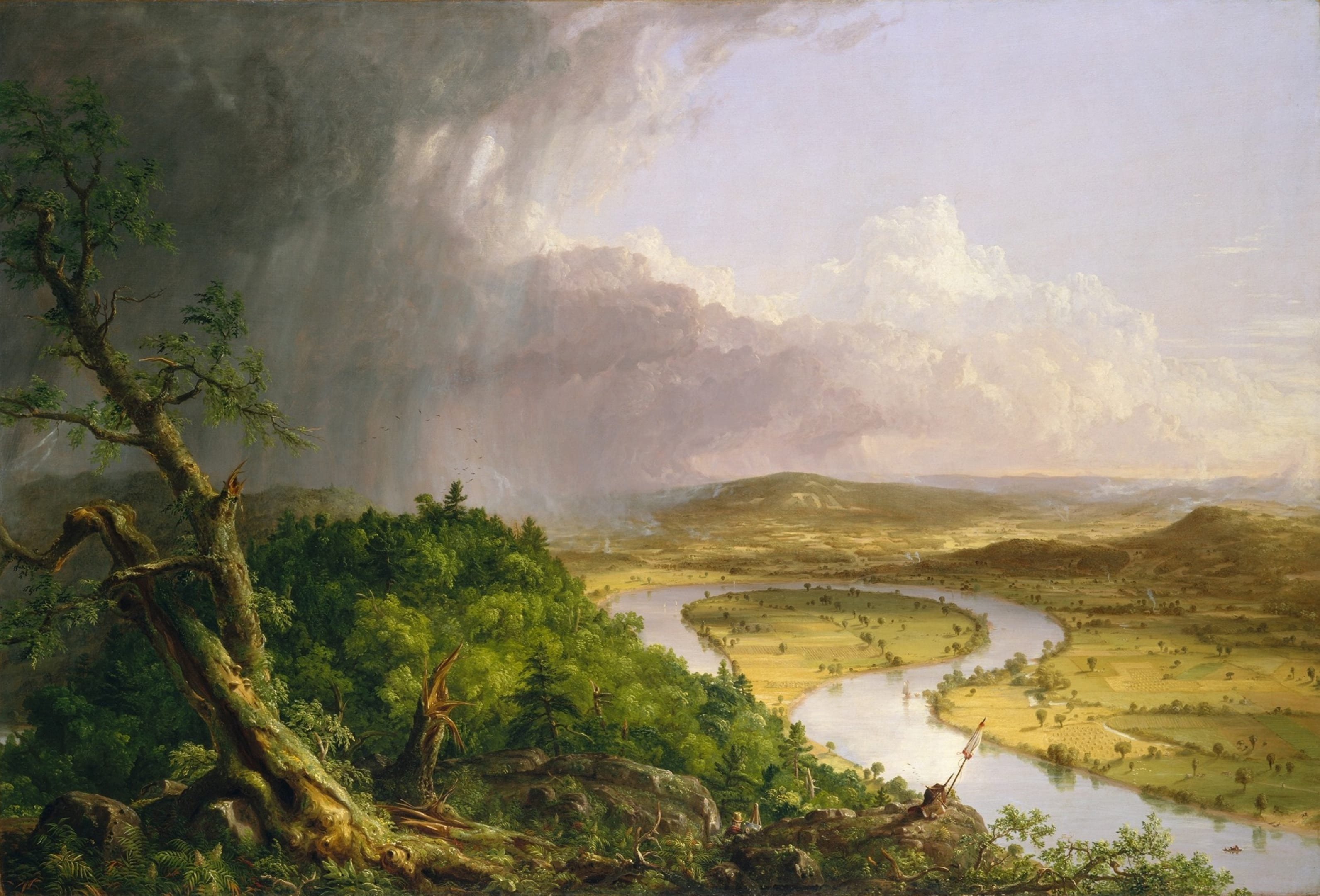 Cole Thomas The Oxbow (The Connecticut River Near Northampton 1836)