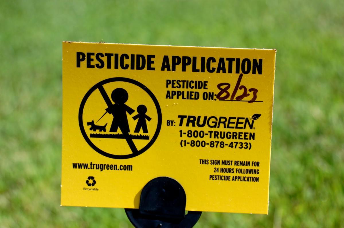 Pesticides Sign 2011