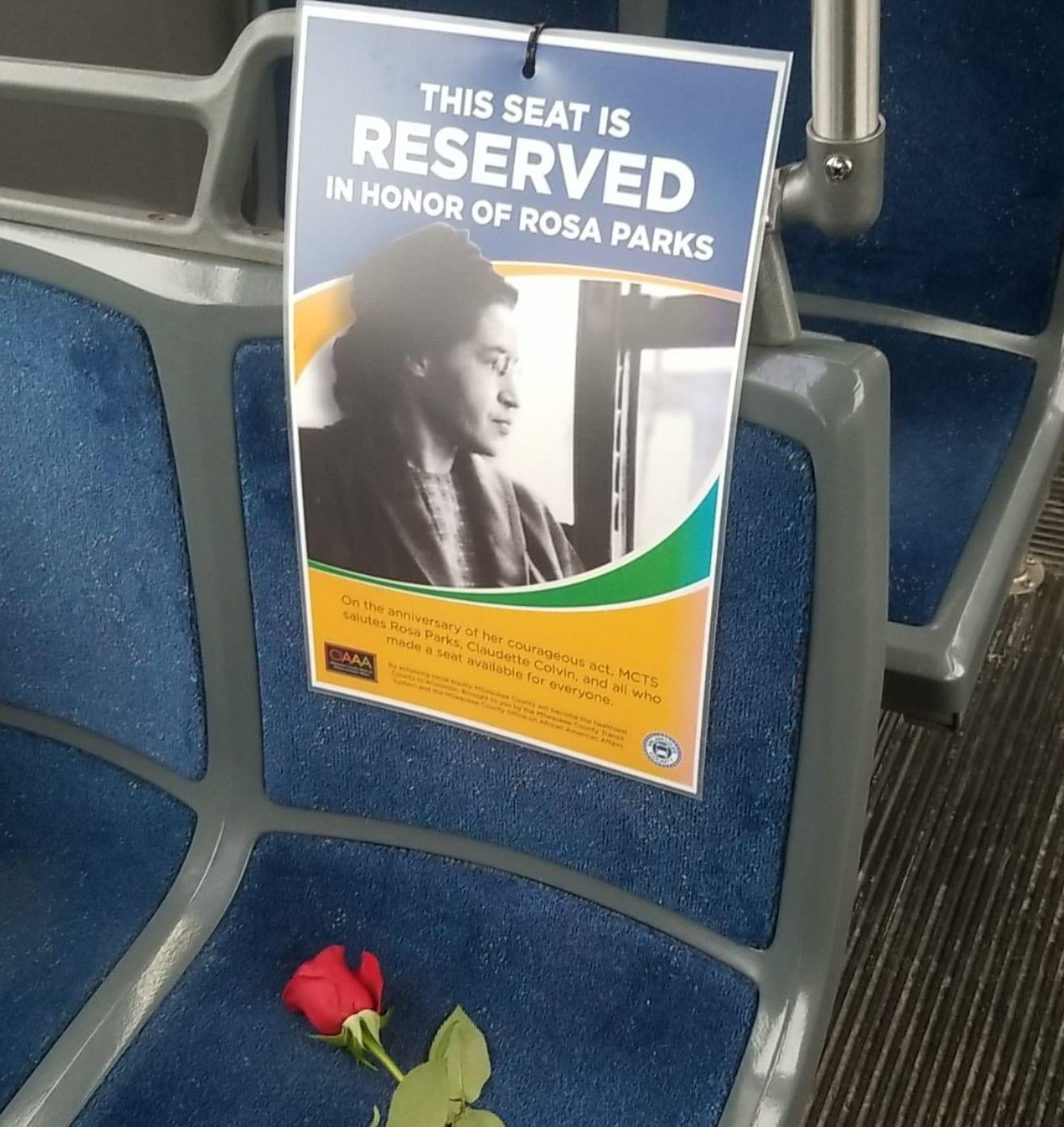 Rosa Parks Bus Seat